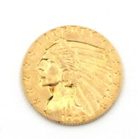 1928 UNITED STATES 2 1/2 DOLLAR GOLD COIN   INDIAN HEAD / QU