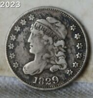 1829 CAPPED BUST HALF DIME  FREE S/H AFTER 1ST ITEM