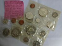 18 COIN CANADA PROOF LIKE SETS 3 SETS UNC IN CELLO CANADIAN