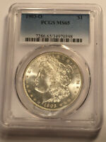 1903 O  MORGAN DOLLAR MINT STATE 65 PCGS BLAST WHITE GEM BU 3