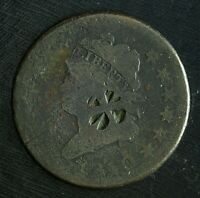 1810 CLASSIC HEAD LARGE CENT PIECE  CIRCULATED  GREAT TYPE SET FILLER 068