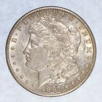 1897-S MORGAN DOLLAR  ALMOST UNCIRCULATED SILVER DOLLAR