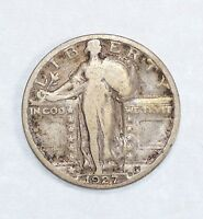 1927-S STANDING LIBERTY QUARTER  GOOD SILVER 25C