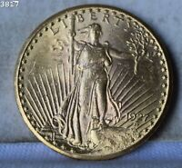 1927 $20 ST. GAUDENS AMERICAN DOUBLE EAGLE  .96750 OZ. GOLD