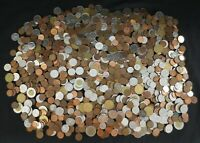 EIGHT POUNDS OF MIXED UNCOUNTED CANADA CURRENCY COINS