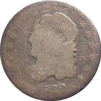 1832 BUST HALF DIME--ABOUT GOOD