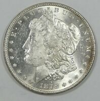 1878 7-TAIL FEATHER REV 1878 MORGAN SILVER $ CHOICE BRILLIANT UNC  DMPL REVERSE