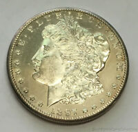 1897-S SAN FRANCISCO MORGAN SILVER DOLLAR UNCIRCULATED DEEP MIRROR PROOFLIKE