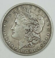 1878 7/8 TAIL FEATHER MORGAN SILVER DOLLAR EXTRA FINE  4 VISIBLE TAIL FEATHERS