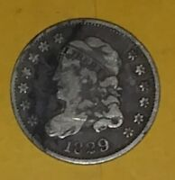 1829 CAPPED BUST HALF DIME VF - EXTRA FINE