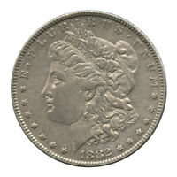 1882 VAM-24 DOUBLED 882, DOUBLED 1 BASE ABOVE DENTICLES MPD MORGAN DOLLAR