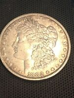 1882-O/S VAM-5  MORGAN SILVER DOLLAR. DONT MISS THIS ONE EXTRA