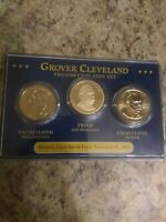 2012 GROVER CLEVELAND  FIRST DAY OF ISSUE  PRESIDENTIAL COIN SET - P, D & S