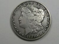 BETTER-DATE 1901-O MORGAN DOLLAR.  36