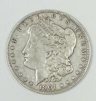 1901-O MORGAN DOLLAR  FINE SILVER $