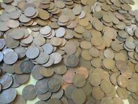 5000 WHEAT CENTS WHEATIES BAG 1940'S & 1950'S P & D LINCOLN CENT COIN 1C COPPER