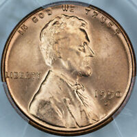 1950-D PCGS MINT STATE 66RD LINCOLN CENT