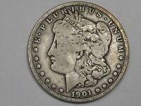 1901-O SILVER US MORGAN DOLLAR.  8
