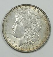 1902 MORGAN DOLLAR AU ALMOST UNCIRCULATED SILVER $