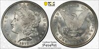 PCGS1878 8TF VAM-14.3 DOUBLED BOW MORGAN DOLLAR BU DETAILCLEANED