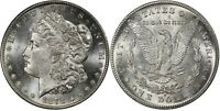 1878-S PCGS MINT STATE 64 MORGAN SILVER DOLLAR-BRIGHT WITH PL TO NEAR PL OBVERSE AND REV
