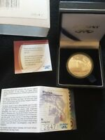 SOUTH AFRICA 2013 PROTEA MANDELA SILVER PROOF COIN. WITH CASE AND COA.