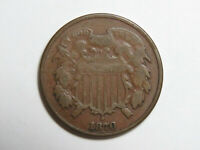 1870 US TWO CENT PIECE