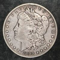 1899 MORGAN SILVER DOLLAR - HIGH QUALITY SCANS E178