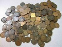 ROLLS OF 20 DIFFERENT BRITISH LARGE PENNIES MOST 75 150 YEARS OLD & VF GEM BU