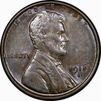 1919-S 1C LINCOLN WHEAT CENT MS BU UNC TONED  OLD TYPE COIN PENNY MONEY