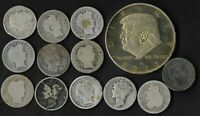 RARE US SILVER LIBERTY MERCURY BARBER COIN COLLECTION LOT DO