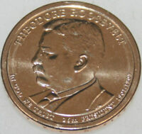 2013-D PRESIDENTIAL DOLLAR UNCIRC THEODORE ROOSEVELT GOLDEN  NO PROBLEM COIN
