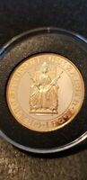 MEGA  1989 GOLD PROOF 2 POUNDS DOUBLE SOVEREIGN COIN CLEAN T