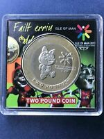[2011 IOM COIN]1X ISLE OF MAN 2  TWO  POUNDS COIN TOSHA CAT