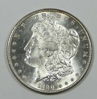 1890-S MORGAN DOLLAR  BRILLIANT UNCIRCULATED SILVER $