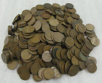 LOT OF 500- LINCOLN CENTS  1909 TO 1919  P, D & S MINTS