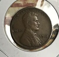 1912 LINCOLN WHEAT CENT. COLLECTOR COIN FOR YOUR SET OR COLLECTION.