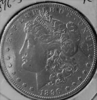 1896 S MORGAN DOLLAR R  KEY DATE DONT SEE ONE LIKE THIS AT THIS PRICE AU