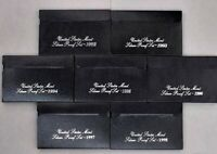 1992 1998 SILVER PROOF SETS SHIPPING 8 PAYPAL ONLY THANK YOU FOR LOOKING