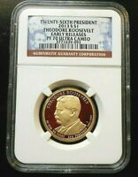 2013 S   NGC PF70   THEODORE ROOSEVELT PRESIDENTIAL PROOF