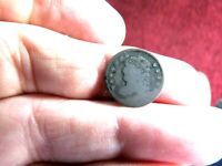 EARLY UNITED STATES 1829? CAPPED BUST HALF DIME SILVER COIN