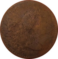 1794 LARGE CENT LIBERTY CAP FLOWING HAIR 1C DETAILS CORROSION/CLEANEDFULL DATE