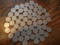 LIBERTY V NICKELS LOT OF 60 ALL WITH DATES