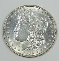 1903 MORGAN DOLLAR BRILLIANT UNCIRCULATED SILVER $