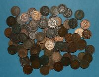 100 INDIAN HEAD CENTS PENNIES   1880 1908 CULL LOT