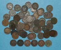 64 INDIAN HEAD CENT LOT   NICER GRADES ALL WITH CORROSION