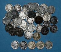 47 BUFFALO NICKELS ROLL FROM 1920'S   SOME  DATES IN LOT
