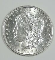 1903 MORGAN DOLLAR ALMOST UNCIRCULATED SILVER $
