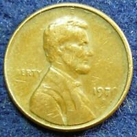 1970 D LINCOLN MEMORIAL CENT   STRUCK THROUGH   ERROR   OBVERSE & REVERSE