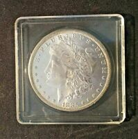 1885 O MORGAN DOLLAR MINT STATE UNCLEANED